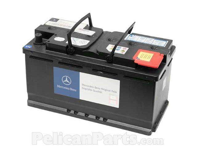 Battery 0055411001 Genuine Mercedes Benz 005 541 10 01