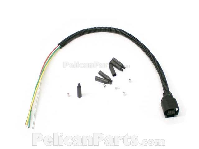 12517602973 M9 throttle housing wiring harness repair kit 12517602973 genuine bmw wiring harness repair kit at crackthecode.co