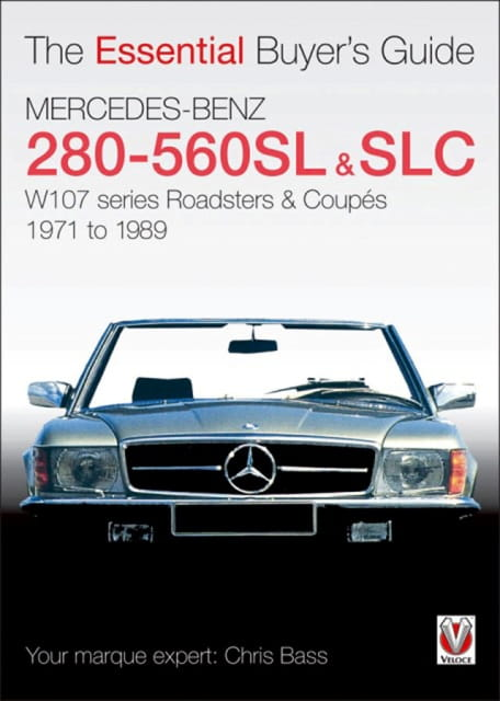 Mercedes benz 280 560sl slc the essential buyer 39 s guide for Books mercedes benz