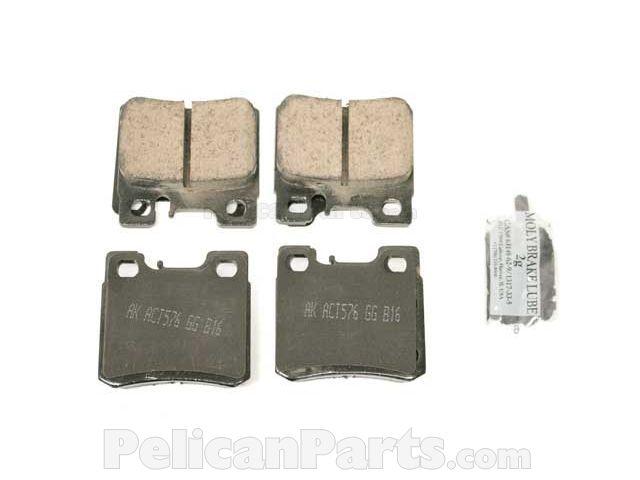 Mercedes-Benz Brake Pad Set - 0054201720 - Akebono Euro EUR 495 005 420 17  20