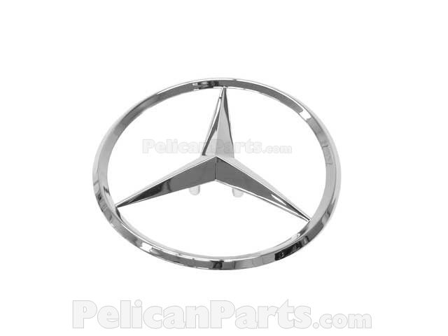 Genuine Mercedes-Benz Emblem 215-758-00-58