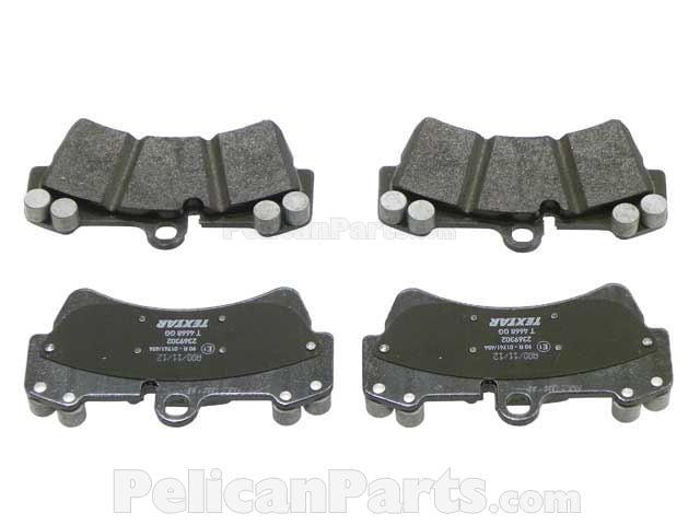 Genuine OE Textar Front Disc Brake Pads Set 2369302