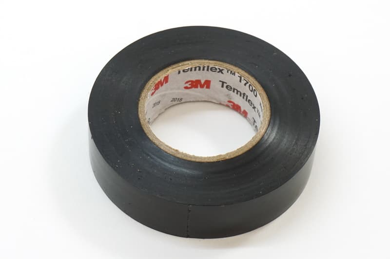 MINI Electrical Tape - 3M Temflex 1700 - Black (3/4 in X 60 ft Roll) - 3M  16578 16578