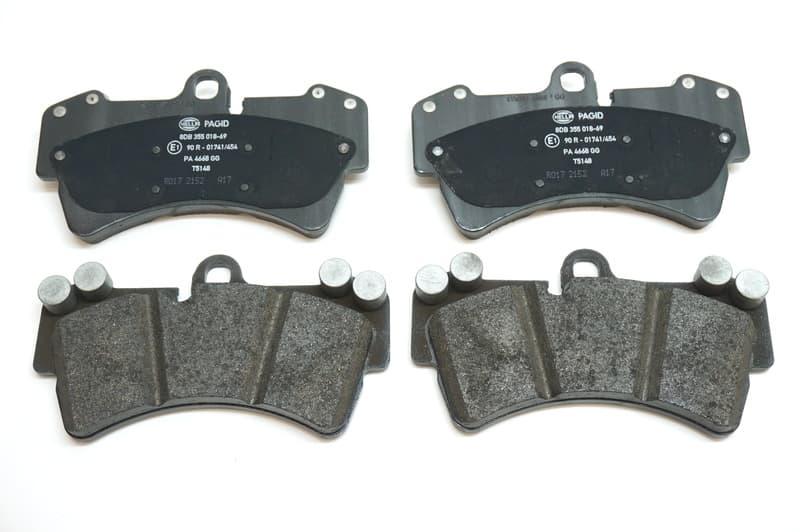 Brake Pad Set 95535193916 Hella Pagid Porsche 955 351 939 16 Pelican Parts