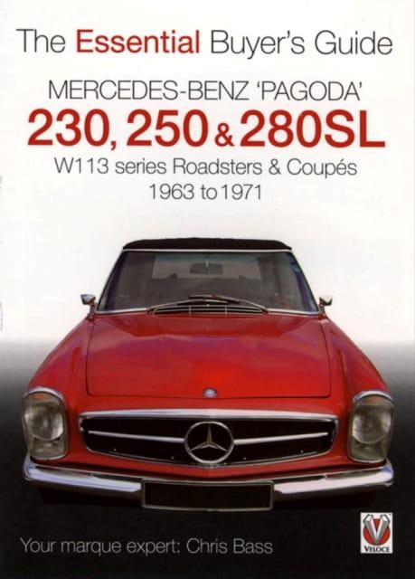 Mercedes benz 39 pagoda 39 230 250 280sl for Books mercedes benz