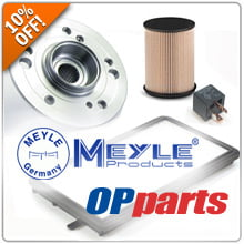 Take 10% Off ALL Meyle and OPParts Products!