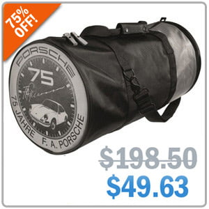 Porsche Sports Bag- Now 75% Off!